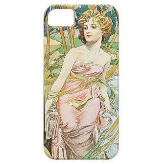 Morgen Alphonse Mucha iPhone 5 Fall weckend Hülle Fürs iPhone 5