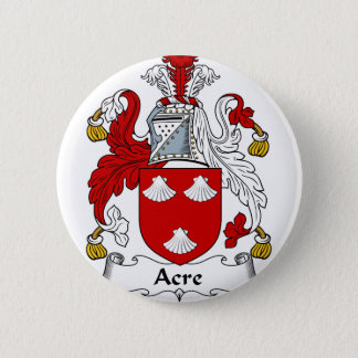 Morgen-altes Familien-Wappen Wappen Runder Button 5,1 Cm