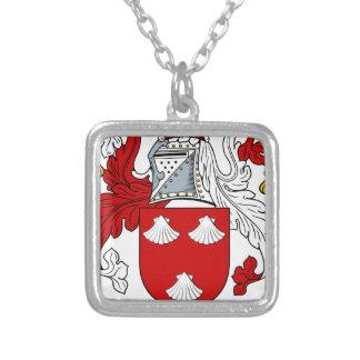 Morgen-altes Familien-Wappen Wappen Versilberte Kette
