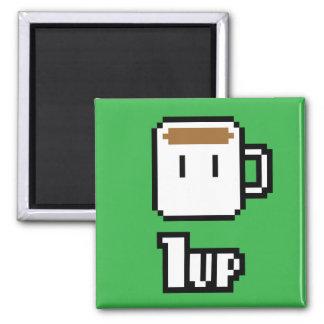 Morgen-anschaltender grüner Magnet Kühlschrankmagnete