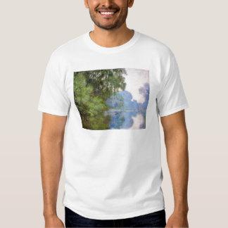 Morgen auf der Seine nahe Giverny Claude Monet T Shirt