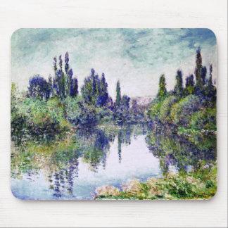 Morgen auf der Seine, nahe Vetheuil - Claude Monet Mauspad