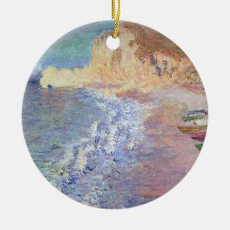 Morgen Claude Monets | bei Etretat Keramik Ornament