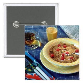 Morgen-Frühstück Button