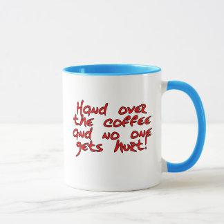 Morgen geben Tageszeit einen schlechten Ruf Tasse
