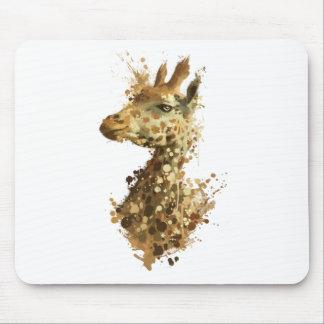 Morgen-Giraffe Mousepad