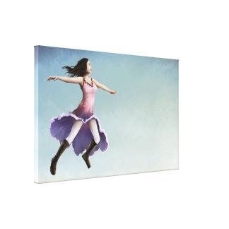 Morgen Gloria 45x24 dehnte Leinwand-Kunst-Druck au Galerie Gefaltete Leinwand