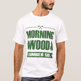 MORGEN-HÖLZERNES BAUHOLZ CO, T-Shirt