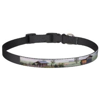 Morgen-Nebel-Hundehalsband Haustierhalsband