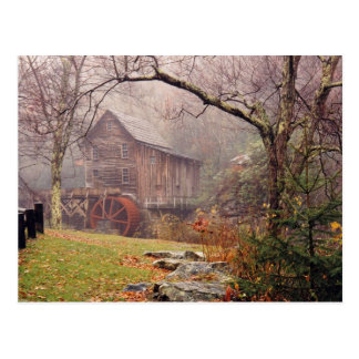 Morgen-Nebel Postkarte