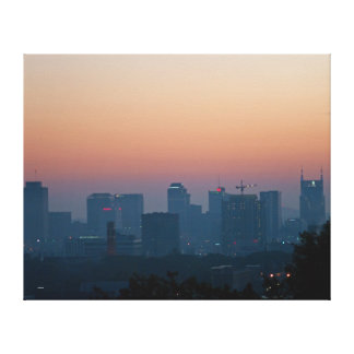 Morgen-Sonnenaufgang Nashville Leinwanddruck