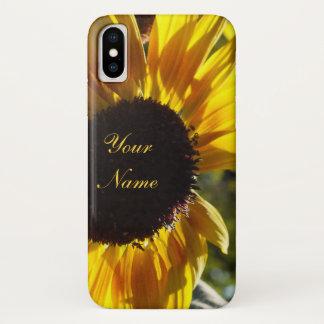 Morgen-Sonnenblume *Customizable iPhone X Hülle