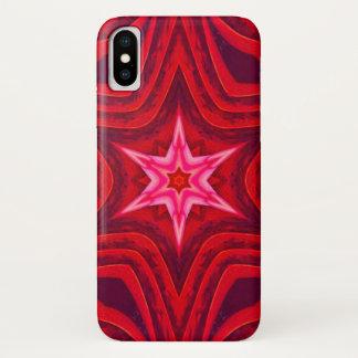 Morgen-Stern-Fleisch-Mandala-Kasten iPhone X Hülle
