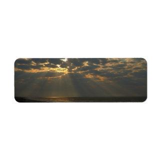 Morgen Sun und Ozean - Eichen-Insel, NC