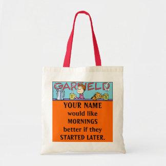 Morgen-Taschen-Tasche Garfields Logobox