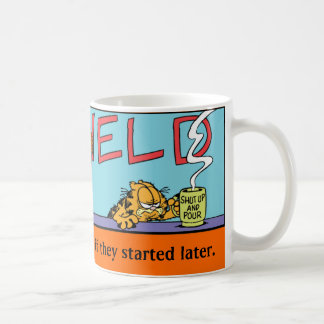 Morgen-Tasse Garfields Logobox Tasse