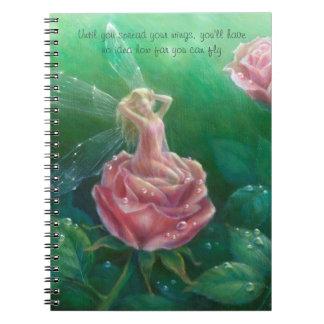 Morgen-Taunotizbuch durch Lynne Bellchamber Spiral Notizblock