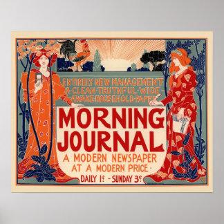 Morgen-Zeitschrift Posterdrucke