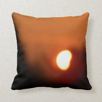 Morgenglühen der Güte Gottes für dich Kissen