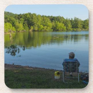 Morgens fischen untersetzer