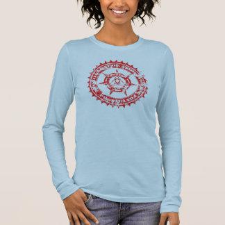 MorissonPoe Glyph-Siegel Langarm T-Shirt
