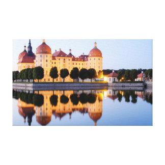 Moritzburg Leinwanddruck