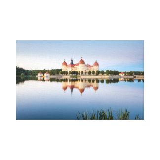 Moritzburg Palast Leinwanddruck