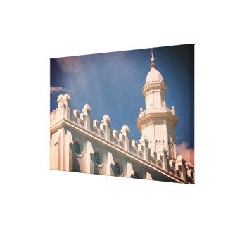 Mormonischer Tempel St George Utah Leinwanddruck