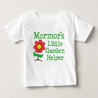 Mormors Garten-Helfer Baby T-shirt