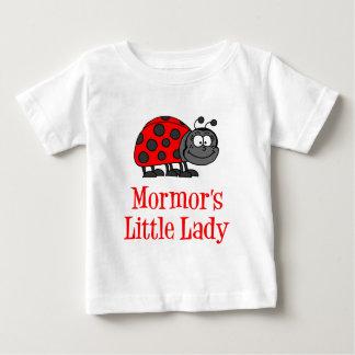 Mormors kleine Dame Baby T-shirt