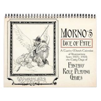 Mornos Würfel des Schicksals-Kalenders Abreißkalender