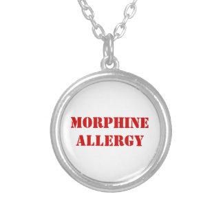 MORPHIUM-ALLERGIE VERSILBERTE KETTE