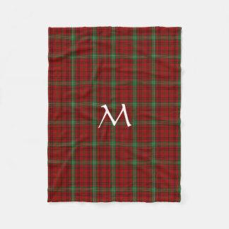 Morrison-Clantartan-karierte Fleece-Decke Fleecedecke