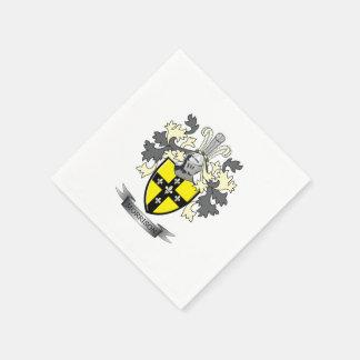 Morrison-Familienwappen-Wappen Servietten