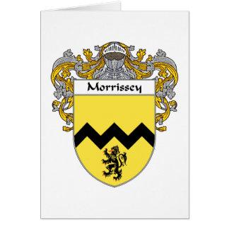 Morrissey Wappen (überzogen) Karte