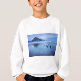 Morro Felsen an der Dämmerung Sweatshirt