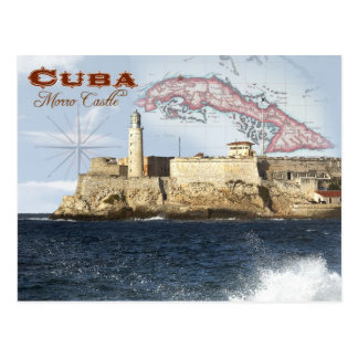 Morro Schloss (Festung), Havana, Kuba Postkarte