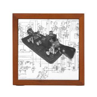Morsealphabet-Radioschematischer
