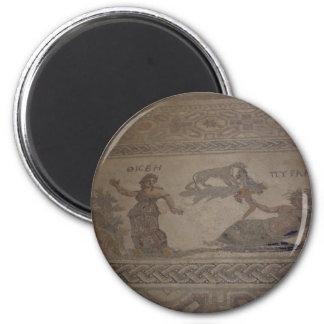 Mosaik 3 runder magnet 5,7 cm