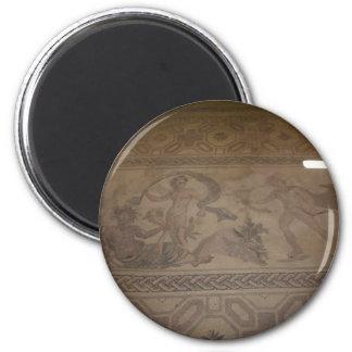 Mosaik 6 runder magnet 5,7 cm