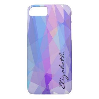 Mosaik-abstrakter moderner geometrischer iPhone 8/7 hülle