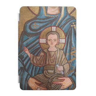 Mosaik des Babys Jesus iPad Mini Cover
