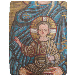 Mosaik des Babys Jesus iPad Smart Cover