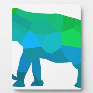 Mosaik-Elefant 1 Fotoplatte