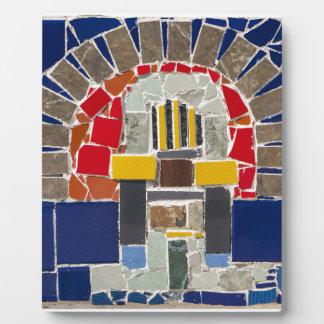 Mosaik Fotoplatte