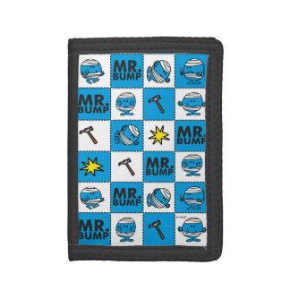 Mosaik Herr-Bump   im blauen Muster