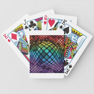 Mosaik-Hintergrund Bicycle Spielkarten