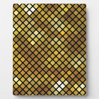 Mosaik-Hintergrund Fotoplatte