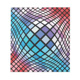 Mosaik-Hintergrund Notizblock