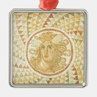 Mosaik in Athen, Griechenland Silbernes Ornament